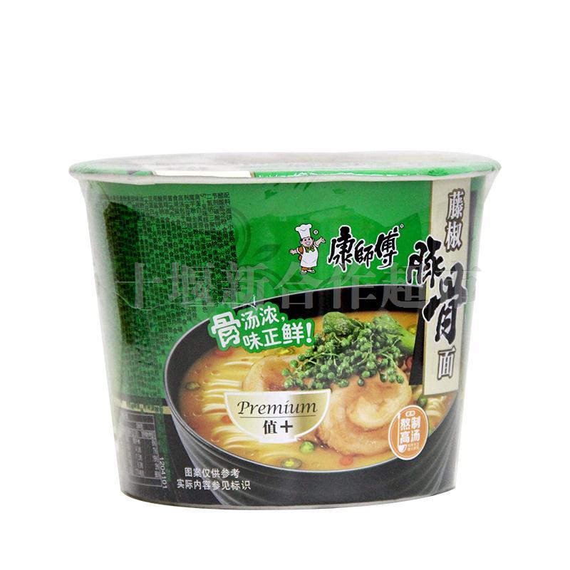分享到:0 康师傅藤椒豚骨桶方便面112g 市场价: ¥5.图片